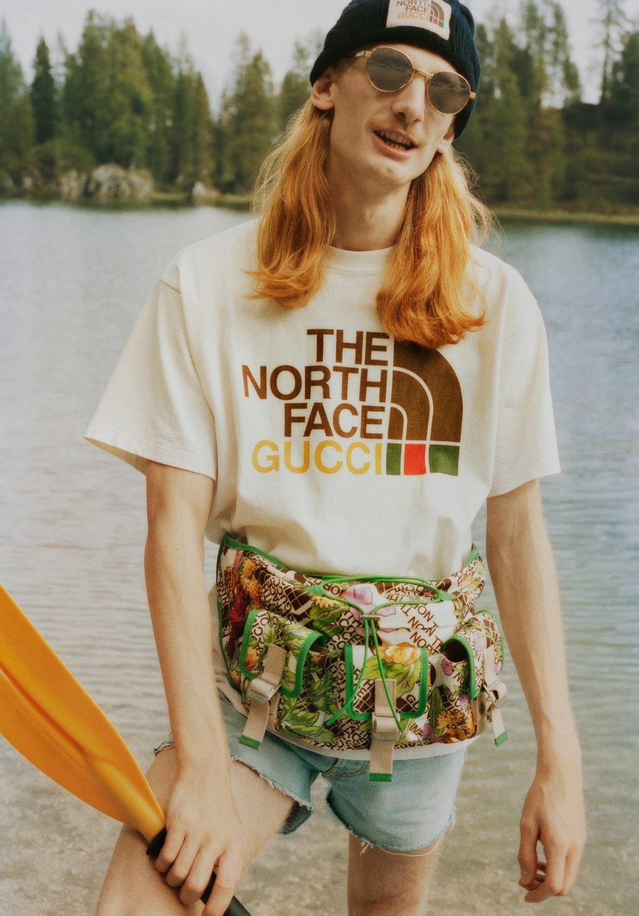 North Face X Gucci Spring 2021 Campaign Fashion News Kendam The North Face Gucci Spring Gucci [ 1807 x 1260 Pixel ]