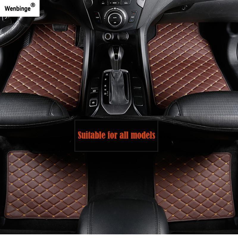 Wenbinge Car Floor Mat For Mini Cooper R50 F57 Countryman R60 F60