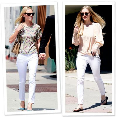 1000  images about White Jeans For Your Bodyshape on Pinterest
