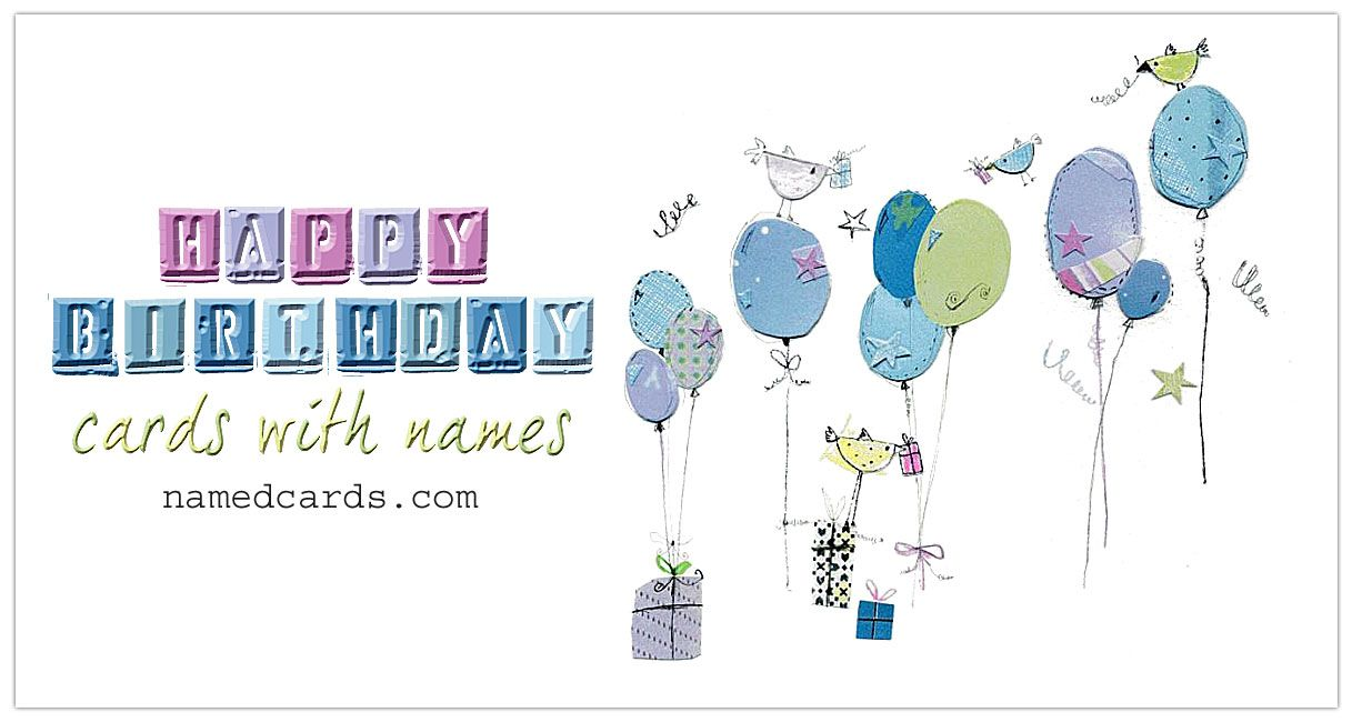 Happy Birthday Cards Personalized With Your Loved Ones Name For Facebook All New Named