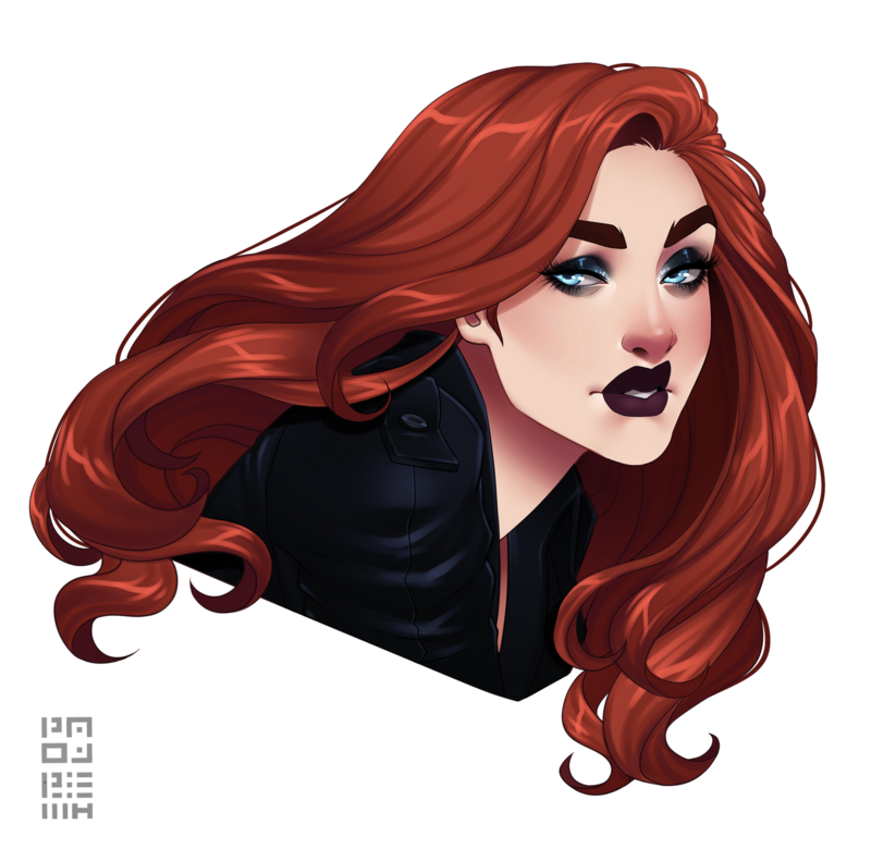 Marvel Female Characters With Red Hair