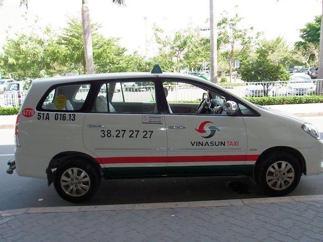 空港からホーチミン市内へタクシーチケットを買って行く方法 ...