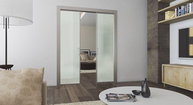 Risultati immagini per porta scorrevole vetro cucina - Ante per cucina laccate prezzi ...