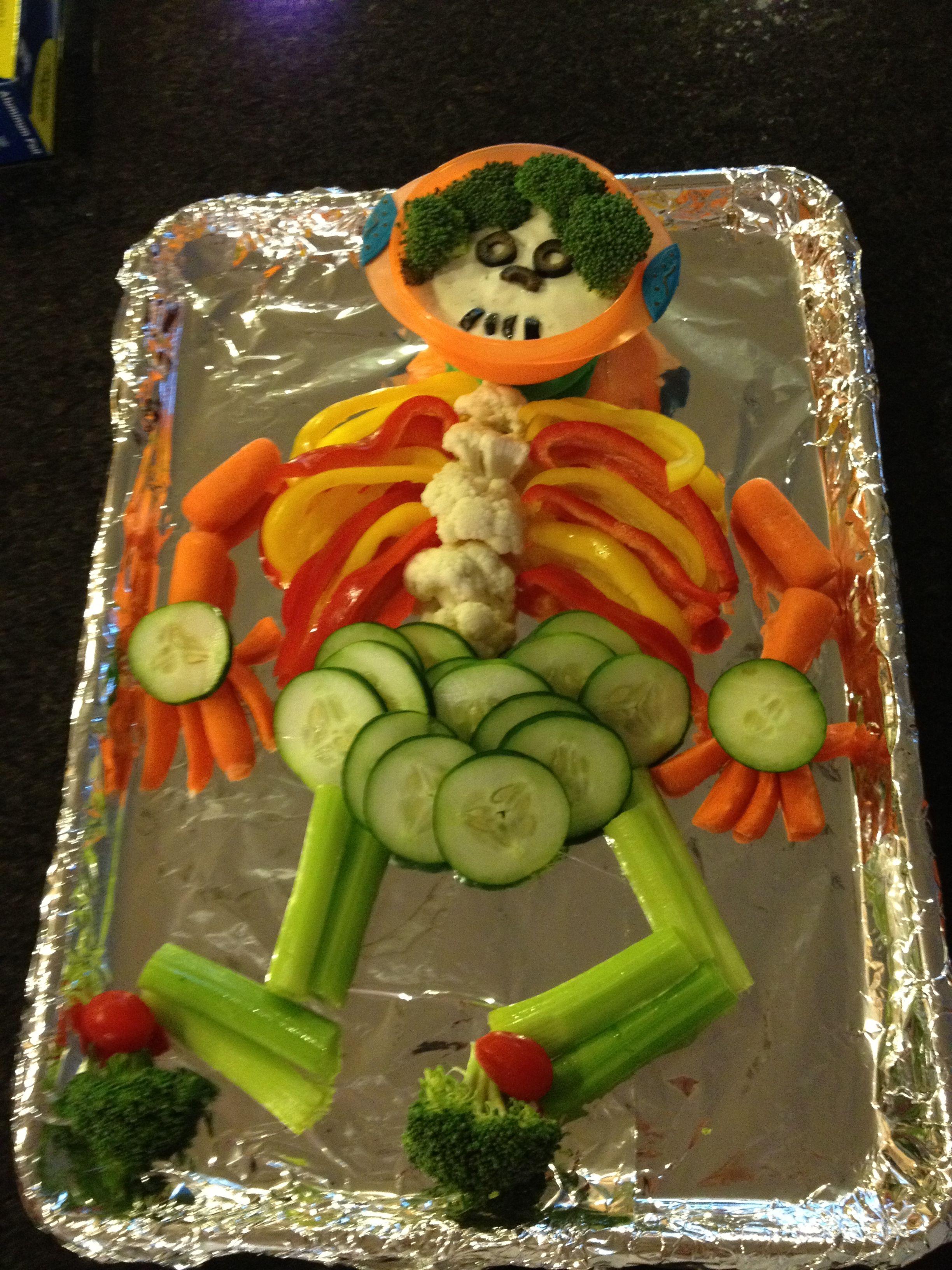 Halloween Veggie Tray Halloween Appetizers Halloween Food For
