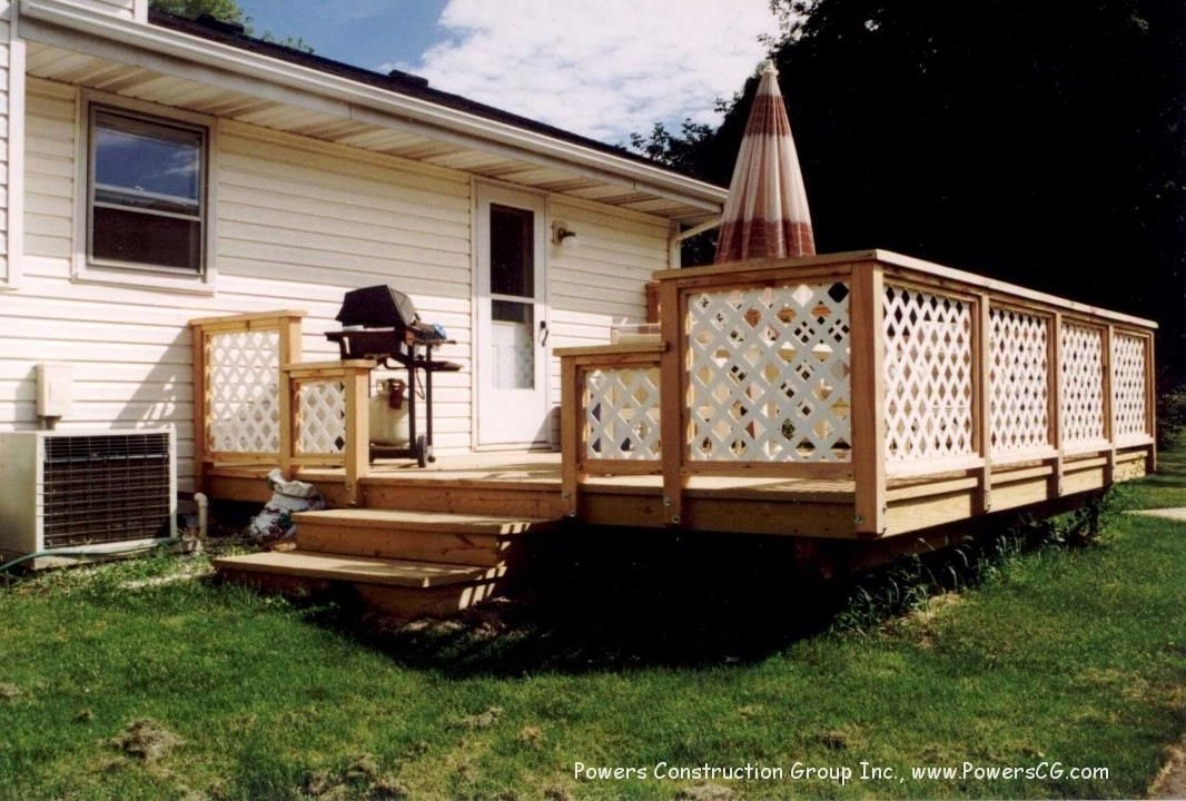 Best Deck Railing With Lattice Check Out Plenty Deck Railing 400 x 300