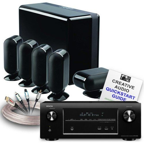 Creative Audio Ca Hc14 Bb Home Cinema System Denon Avr X2000