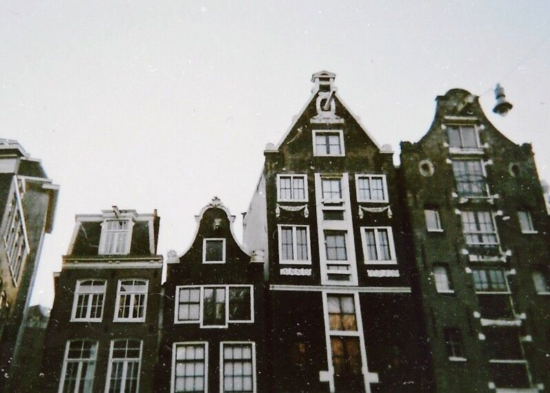 Amsterdam streets will say in my mind till I go back