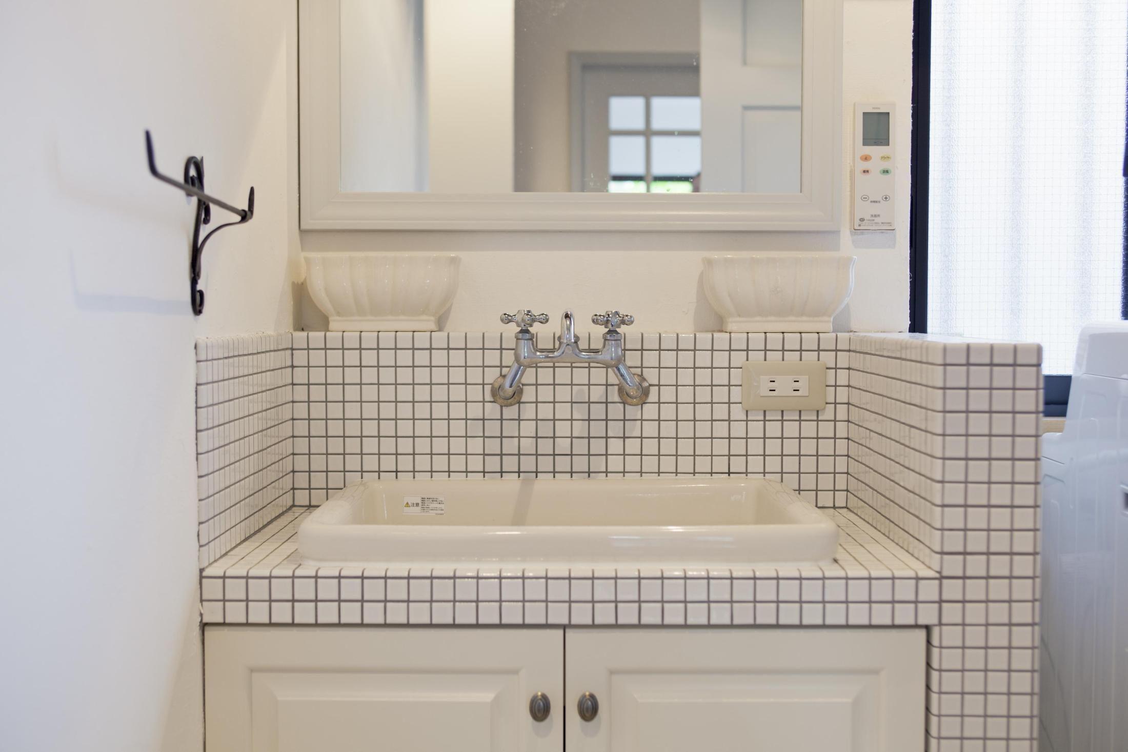 洗面室は 素材選び で断然おしゃれになる 実験用シンク シンク 洗面