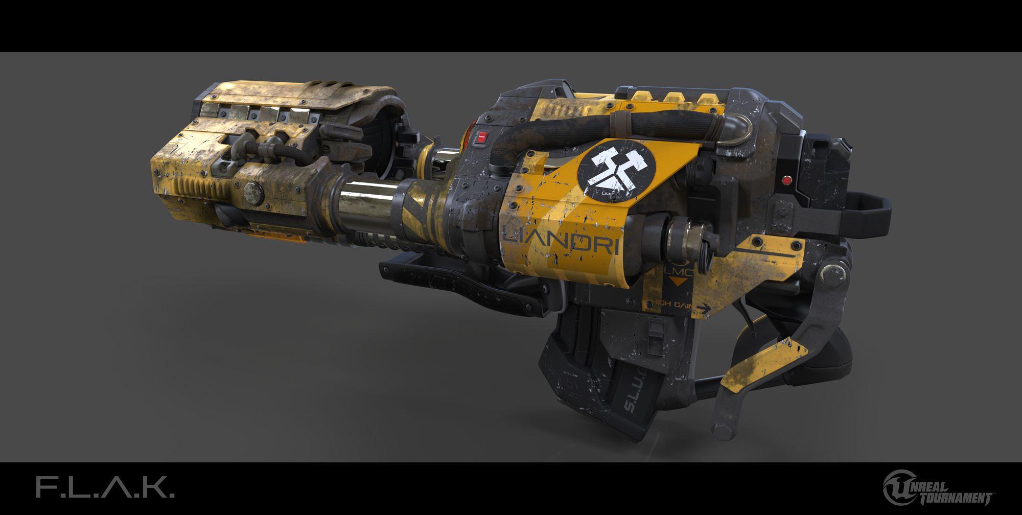 Official Flak Cannon | Unreal Tournament Development