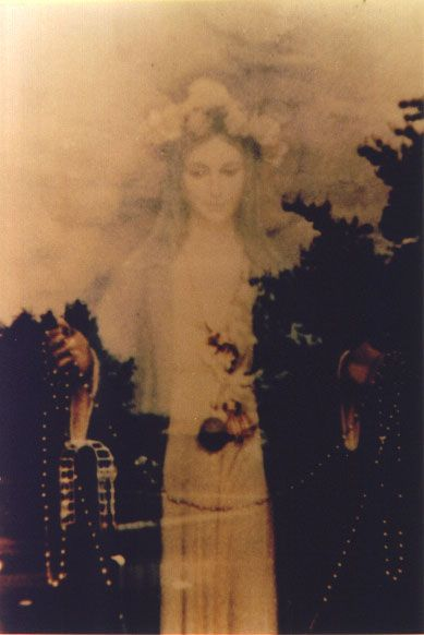 Real Jesus And Mary Photographs With Images Blessed Mother Mary