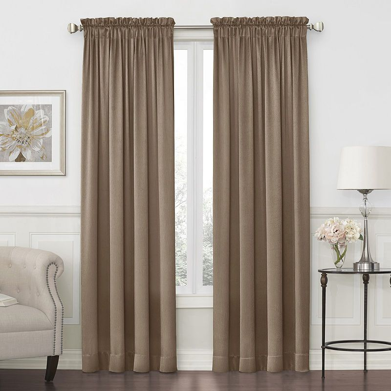 JCPenney Home Hilton Rod-Pocket Curtain Panel