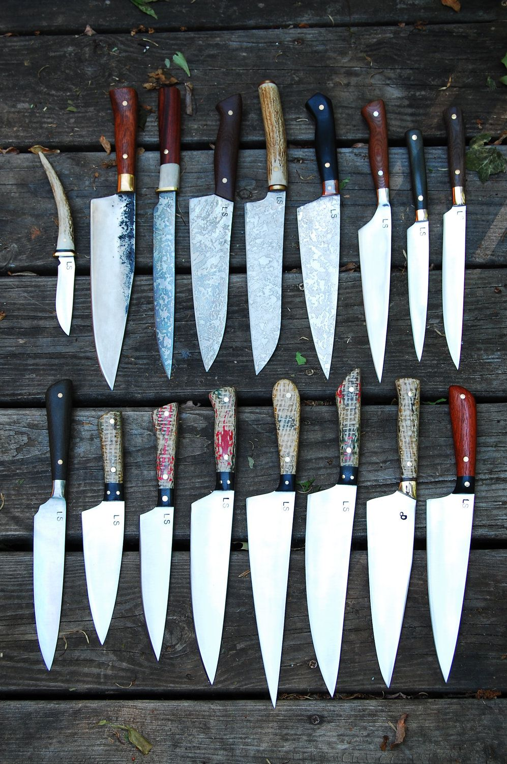 Custom Carbon Steel Chef Knives Yes Please Kitchen