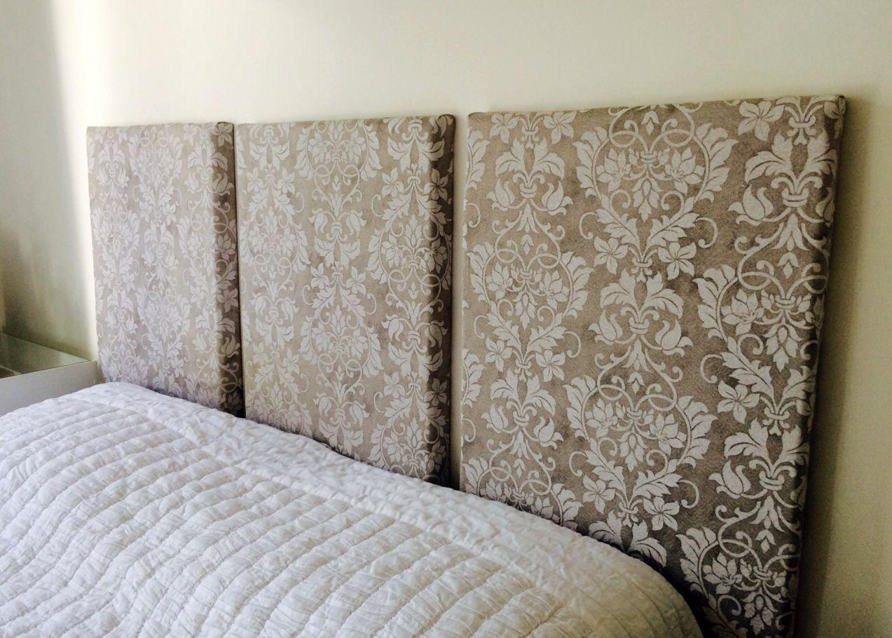 Como fazer cabeceira de cama estofada | Quartos | Pinterest