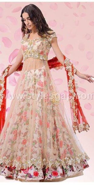 c0f0d64702 Latest Lehenga Choli Trends Designs 2017-18 Pakistani & Indian Fashion