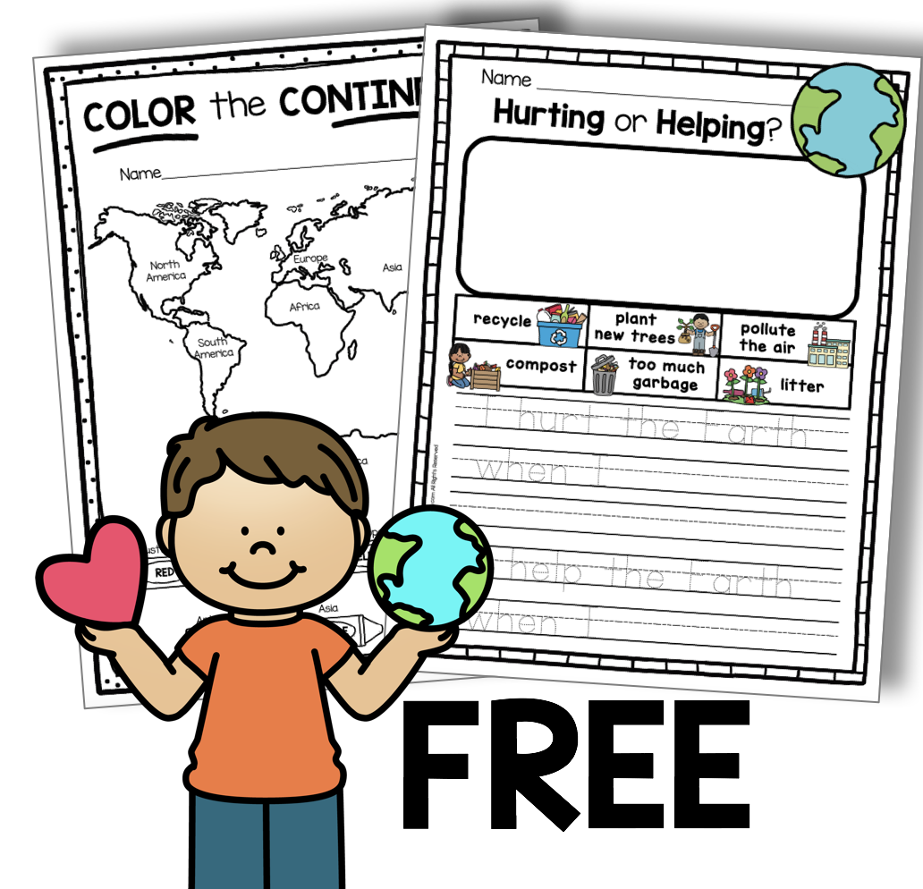 All About Planet Earth Free Activities Keeping My Kiddo Busy Earth Day Activities Earth Activities Earth Day Worksheets [ 994 x 1032 Pixel ]