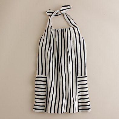 strepen jurk