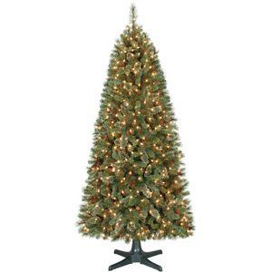 Holiday Time Pre Lit 7 Brookfield Fir Artificial Christmas Tree Clear Lights Walmart 1 Christmas Tree Clear Lights Artificial Christmas Tree Christmas Tree Pre lit rotating christmas tree