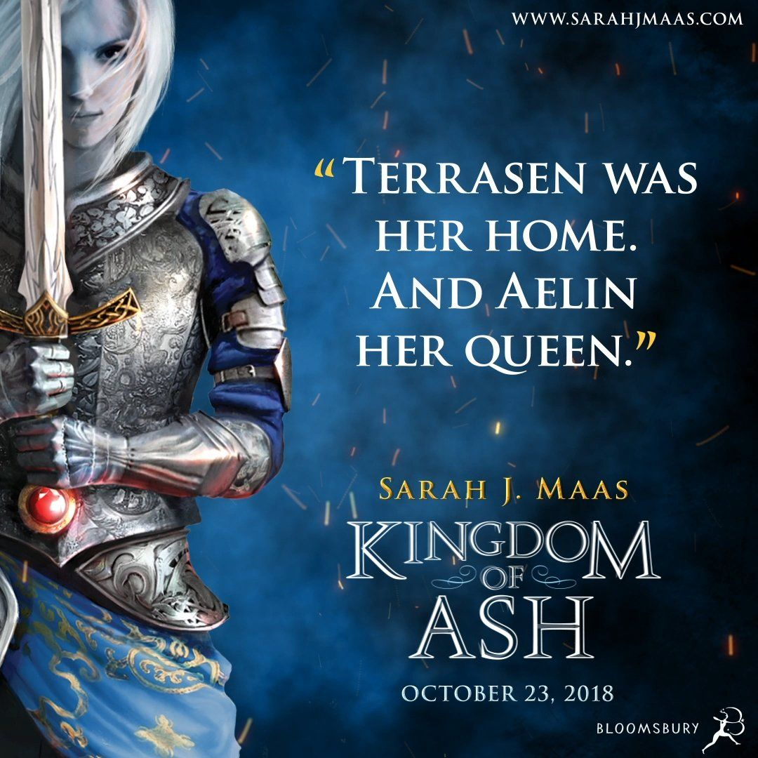 Kingdom Of Ash Quote Throne Of Glass Throne Of Glass Series