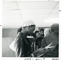 JCSU student (JCSU Archives) Tags: college africanamericans charlottenc jcsu hbcu