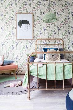 Chambre D Enfant Vert D Eau Ponio Kids Room Wallpaper