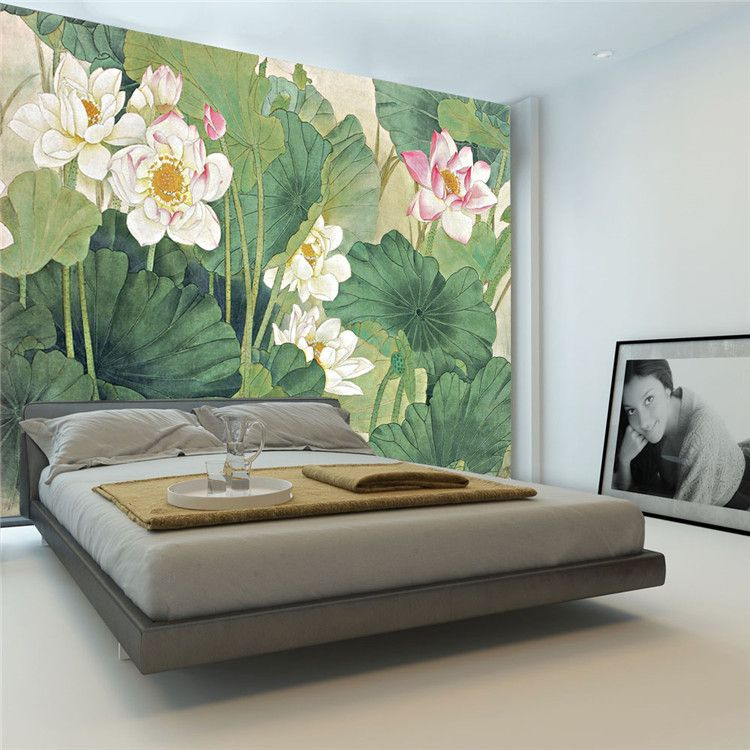 Elegant Wallpaper For Wall: Find More Wallpapers Information About Elegant Lotus