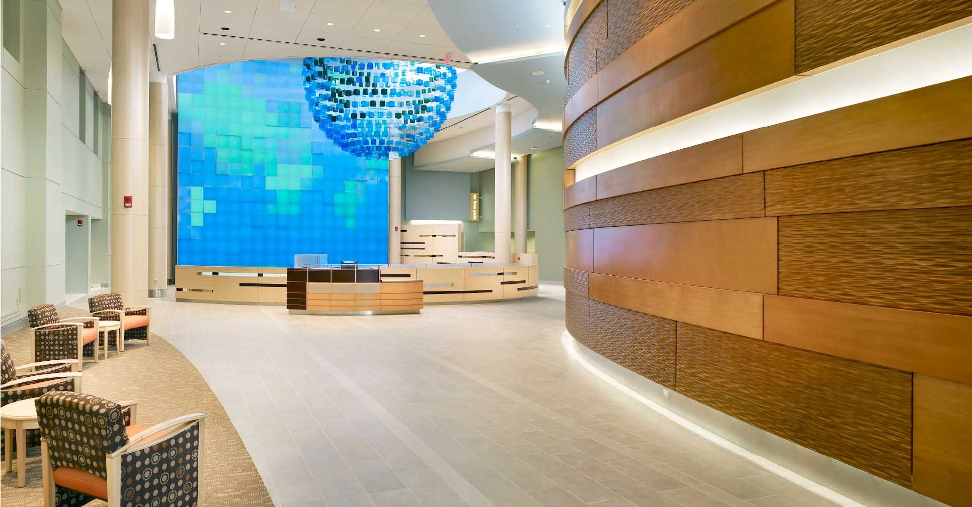 St josephs hospital new jersey hospital expansion lobby explore hospital design ceiling panels and more dailygadgetfo Images