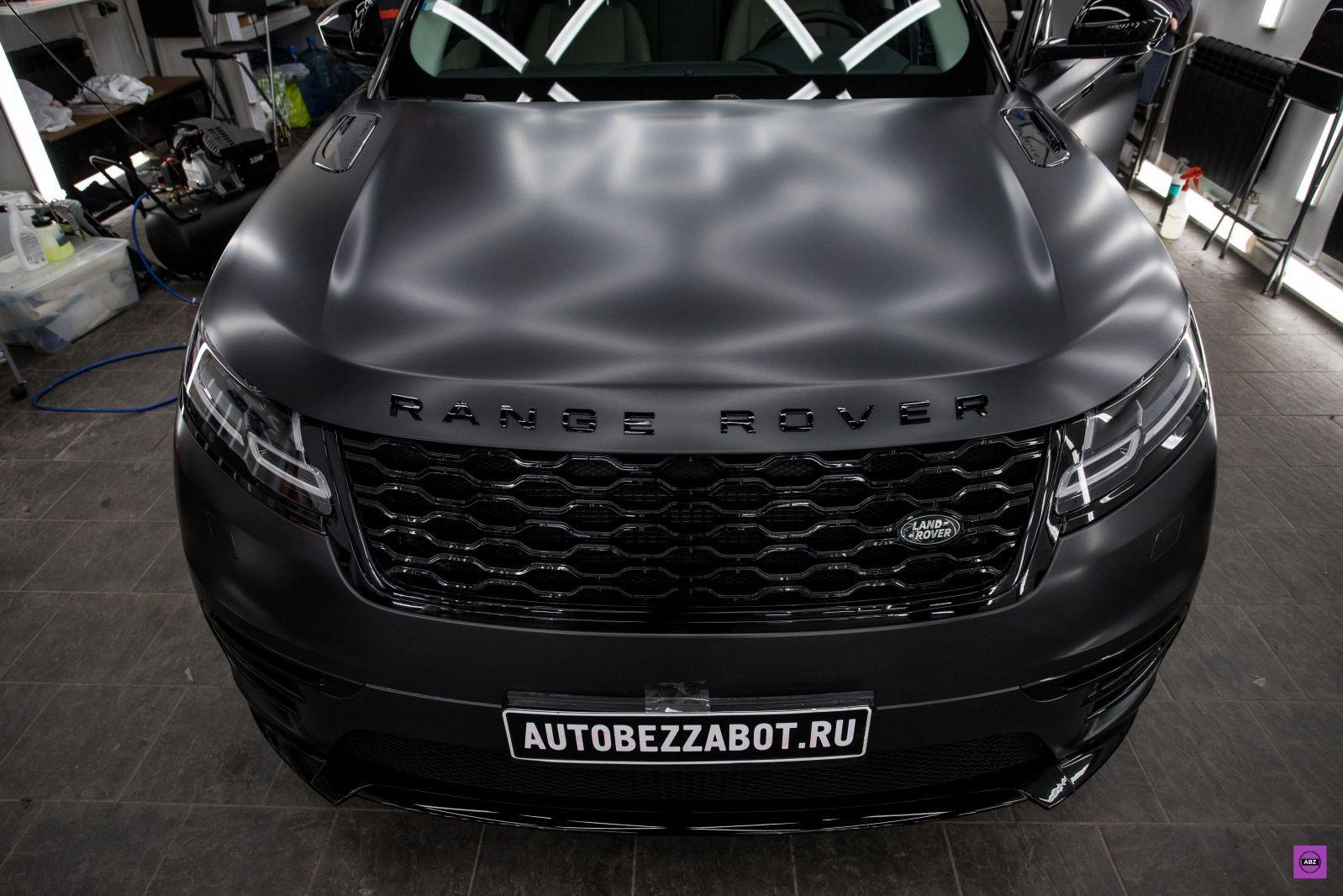 Range Rover Velar из металлика в мат в 2020 г Мате