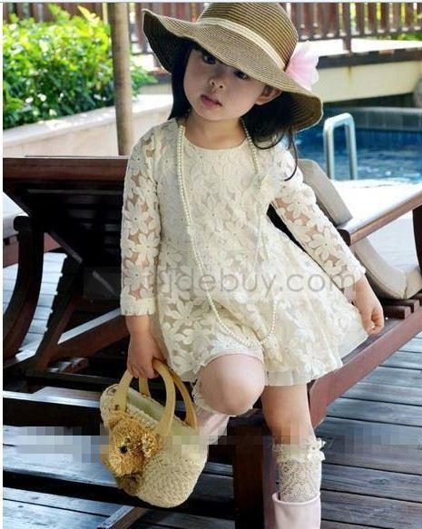 Dress Korea Style Princess Lace Dress