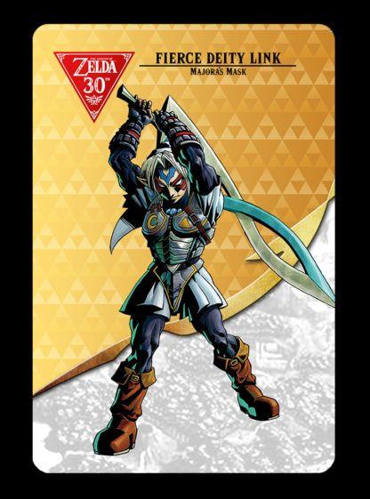 The legend of zelda botw fierce deity link amiibo card