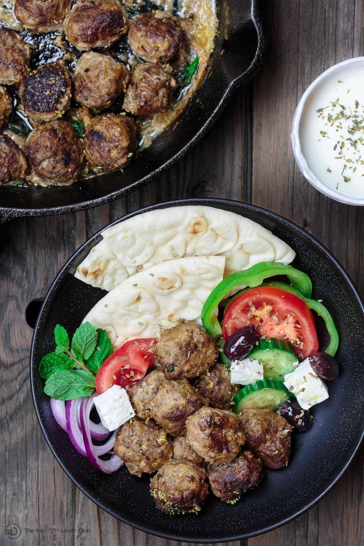 Koftedes greek meatballs recipe delicious dinner recipes koftedes greek meatballs recipe greek food recipeseasy forumfinder Choice Image