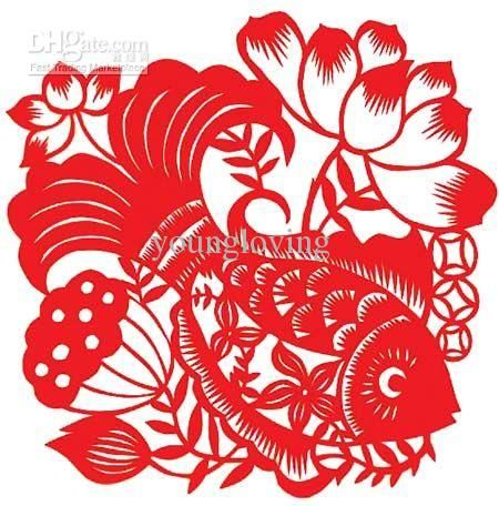 Chinese traditional paper-cut for window decoration Home decoration  decorations of handicraft art Chinese scissors