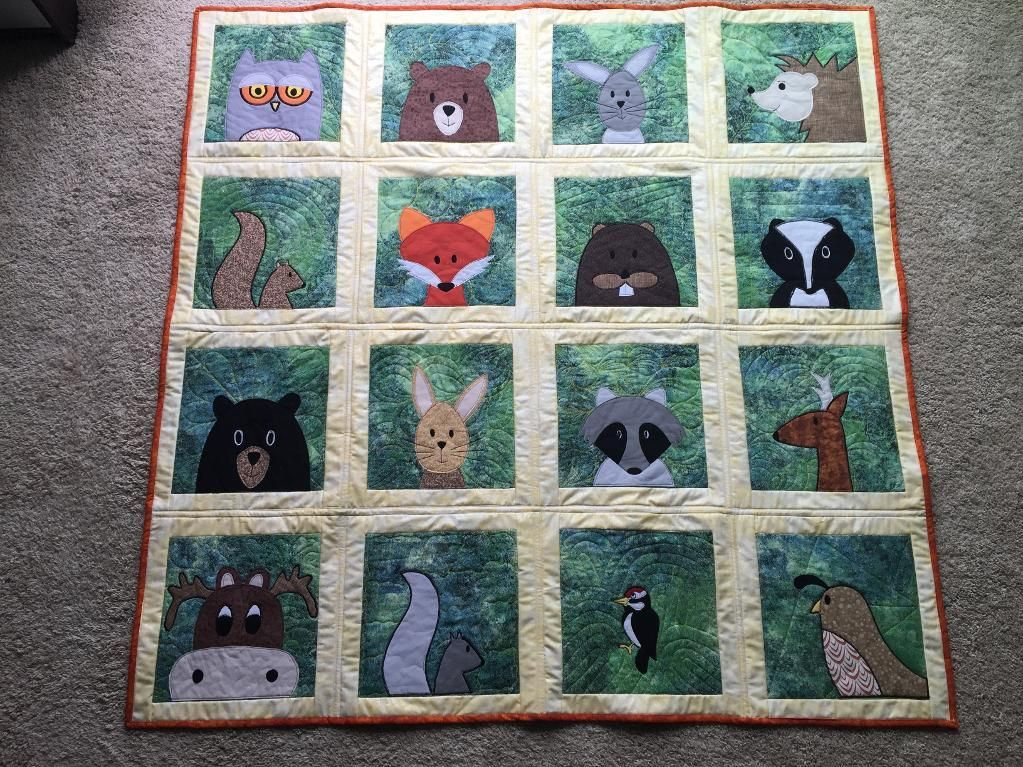 Fusible Appliqué Made Easy | Applique quilts, Woodland animals and ... : fusible quilting - Adamdwight.com