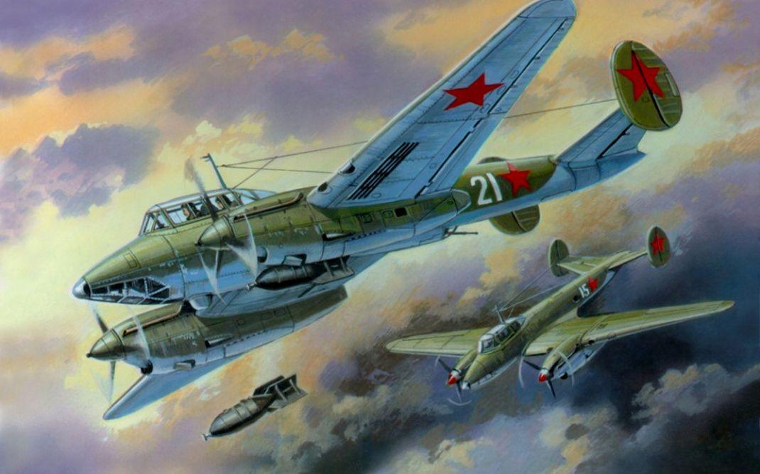 Пикирующий бомбардировщик Пе - 2 | Самолет, Авиация и Война