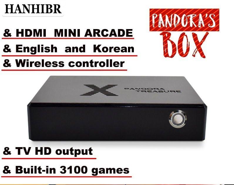 pandora s game mini