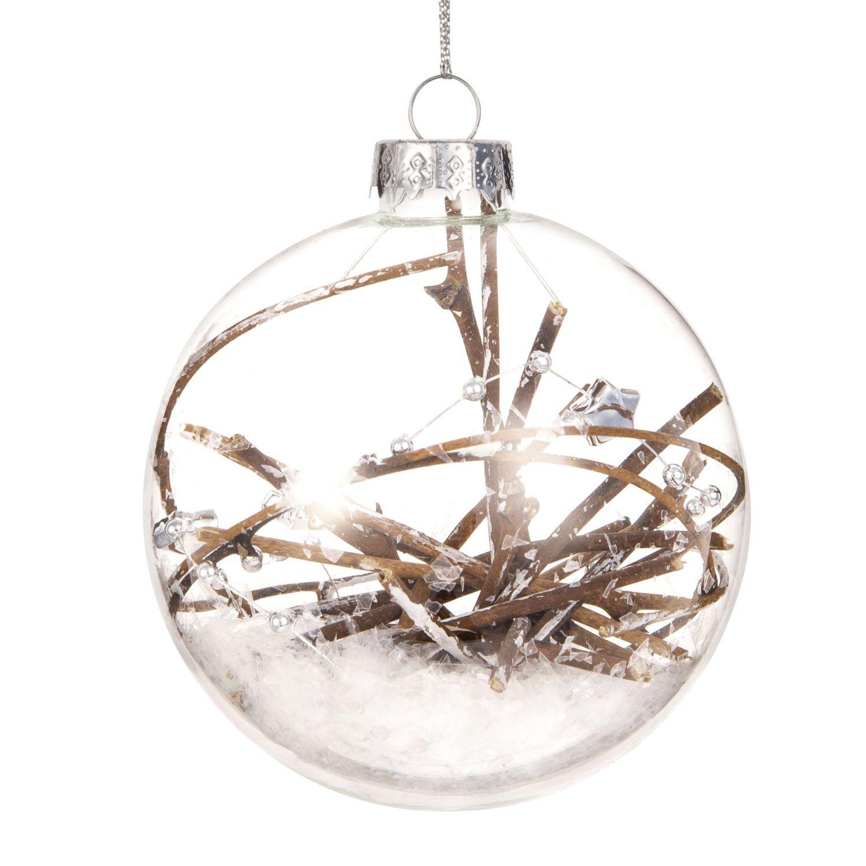 Boule De Noel Transparente A Decorer décorations de noël | boules de noël en verre, decoration
