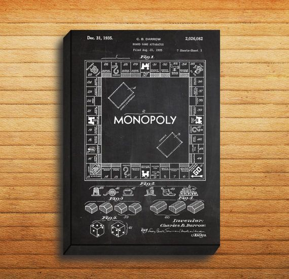 Canvas monopoly print monopoly poster monopoly patent monopoly canvas monopoly print monopoly poster monopoly patent monopoly art monopoly blueprint malvernweather Images