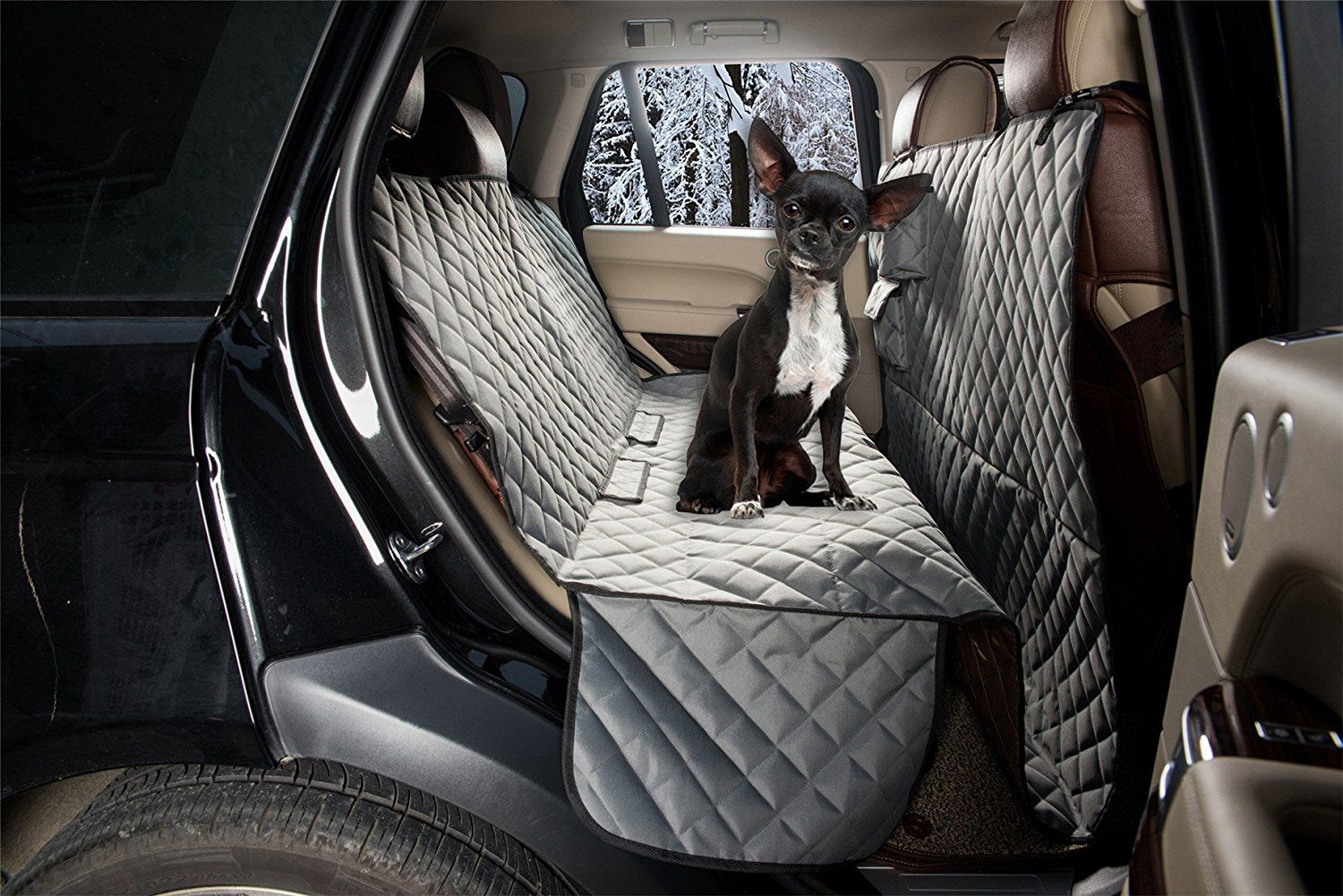 Zq Waterproof All Coverage Padded Style Anti Slip Hammock Dog Car Seat Cover Seat Protector For Pets Trust Me T Dog Car Seat Cover Dog Car Seats Car Seats