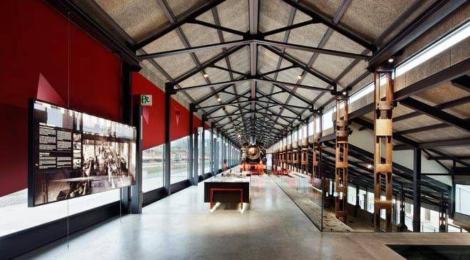 Muelle de carbones en el Museo Nacional de la Energía. Ponferrada, León.  © Ene. Museo Nacional de Energía