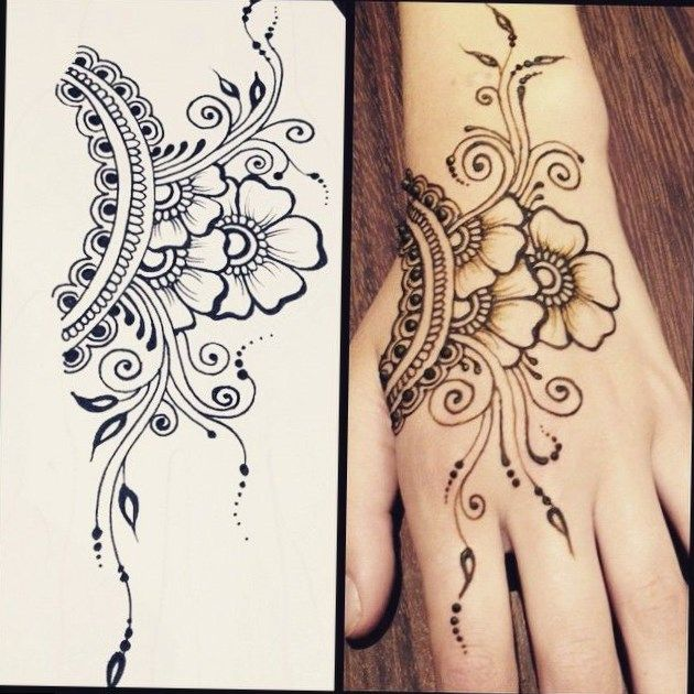 Henna Tattoos Hot Tattoo Henna Tattoo Designs Henna Flower Designs Hand Henna