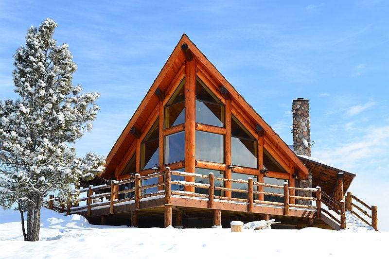 Rustic Chalet By Expedition Log Homes Timber House Log Home Plans Log Homes