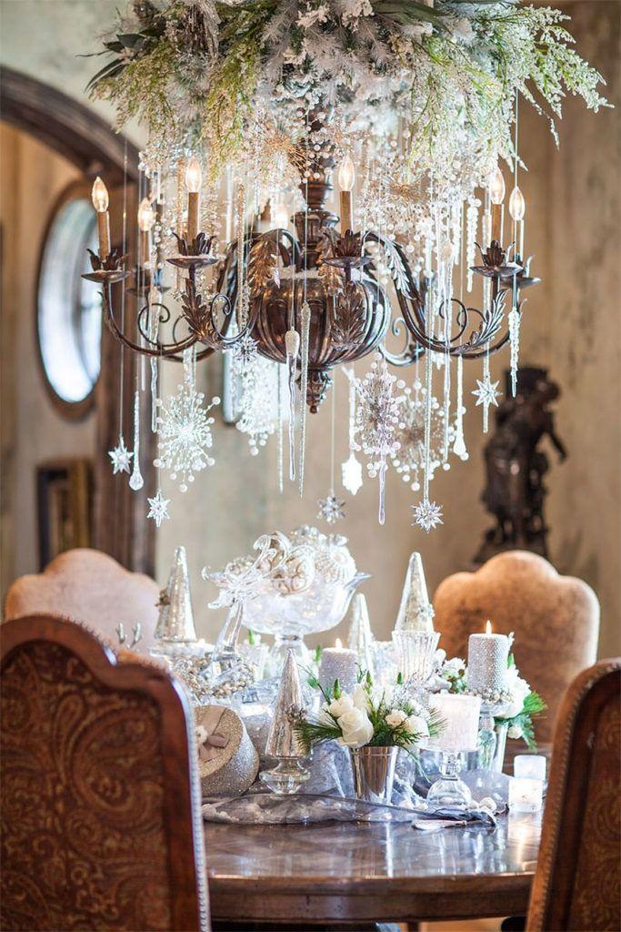 40+ Stunning Christmas Chandeliers | Art & Home
