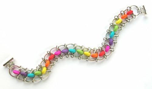 Learn a Weave - Carnival Bracelet - Beadsisters