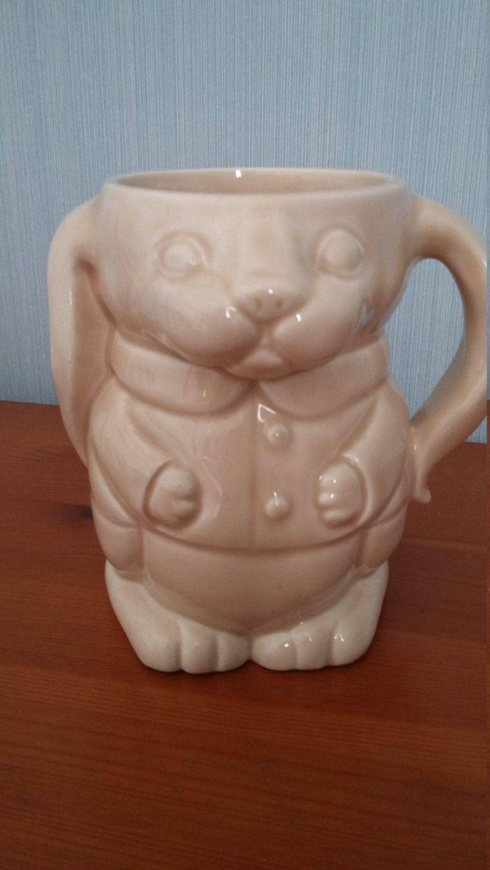 Cute vintage wade for ringtons creamware ceramic bunny or rabbit cute vintage wade for ringtons creamware ceramic bunny or rabbit mug by hashtagcollectibles on etsy negle Choice Image