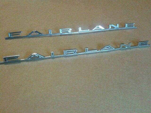 Vintage Car & Truck Exterior Mouldings & Trim NEW Pair!! 1966 Ford  Mustang Quarter Panel Ornaments