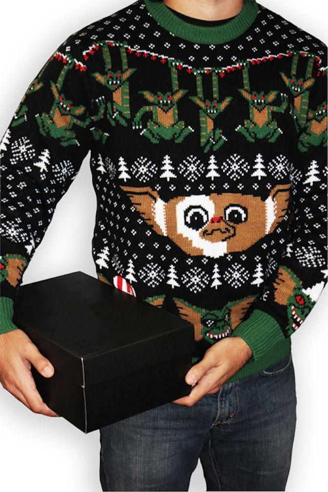Un bonito suéter navideño para todos los fans de los Gremlins  447771127a2a