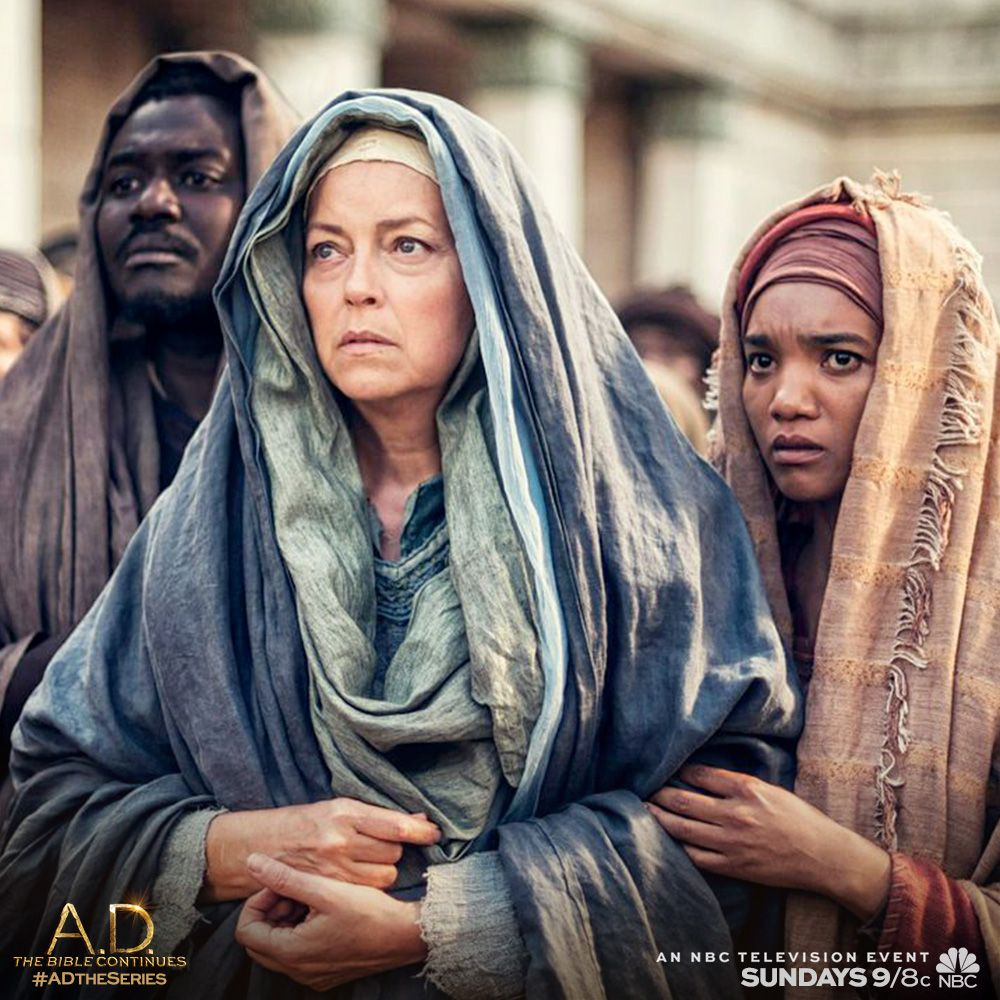 Mother Mary, Mary Magdalene and John stayed strong during Jesus' most harrowing trials on last Sunday's A.D. The Bible Continues. | A.D. The Series.