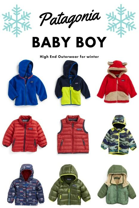 69478d42f109d Here is a sweet collection of Patagonia Infant to 12 months baby boy winter outwear.  Get your baby ready for winter in style! High Quality
