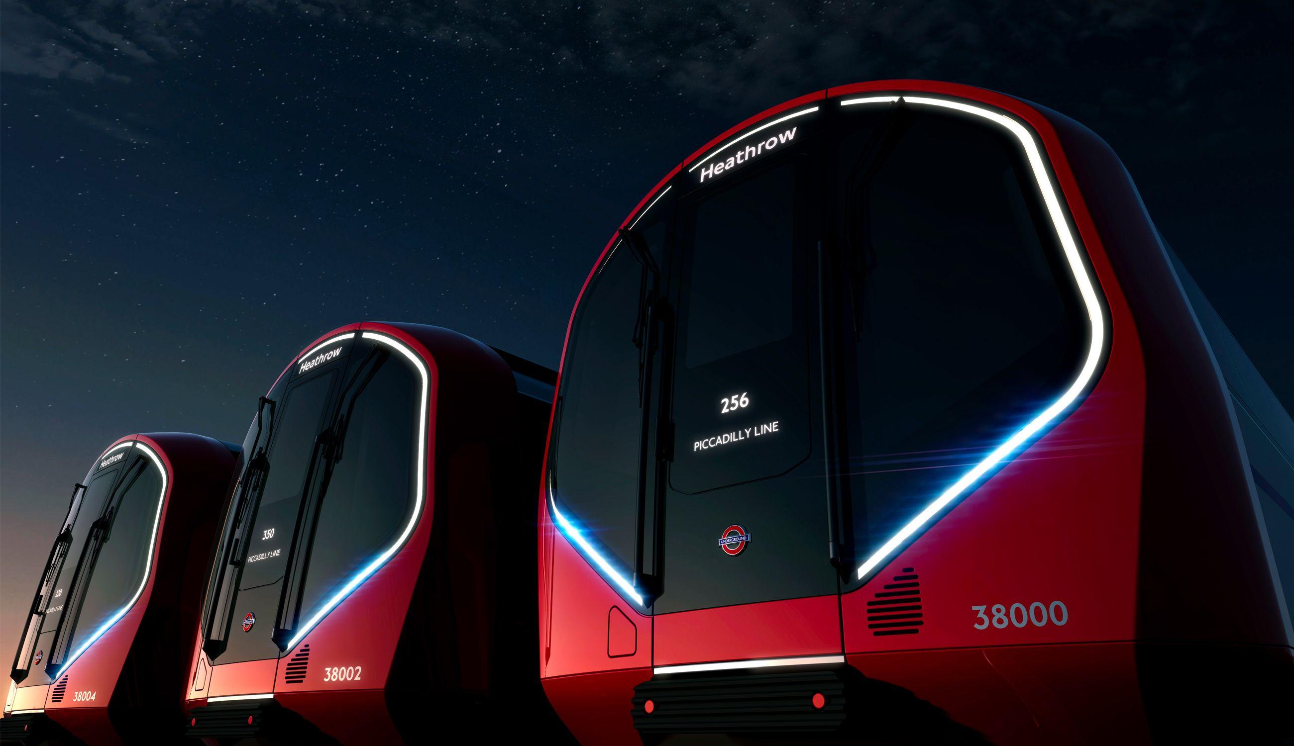 런던의 새로운 지하철 디자인  - 이미지