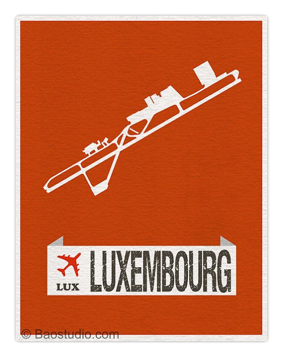 Fly Me To Luxembourg Lux World Traveler Series Luxembourg Findel International Airport Code Runway Map Art Print Pos Map Art Print Map Art Posters Art Prints