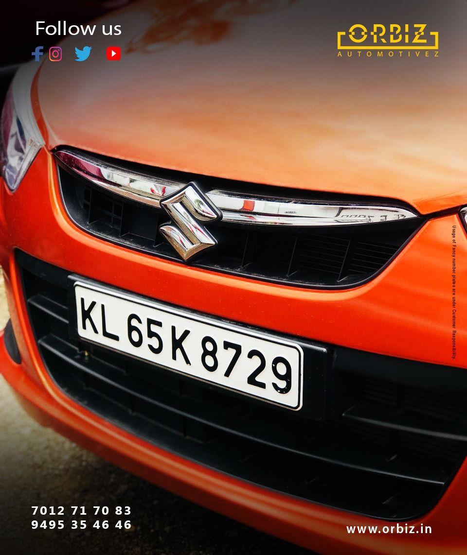 Beautifully Orange Maruti Suzuki Alto 800 Sporting Such A Fancy